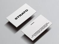 Strato triplex cards