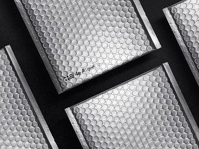 4e Envelopes silver envelope stationery identity branding