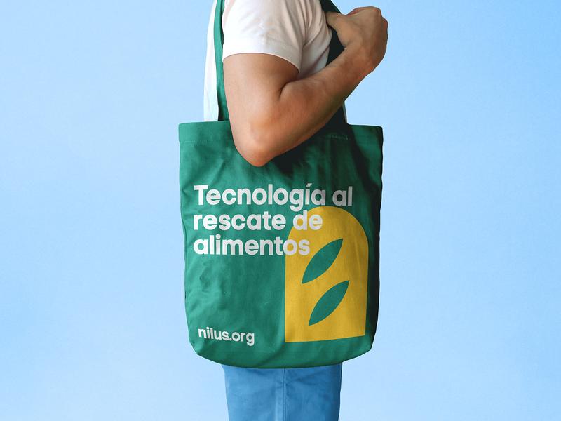 Nilus Totebag totebag technology food asis identity argentina branding