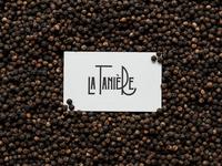 La Tanière card on peppers