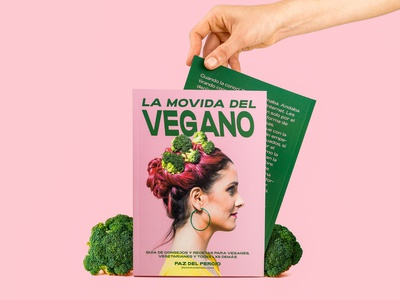 La movida del vegano pink broccoli vegan influencer photography editorial food print asis argentina