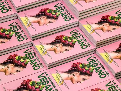 La movida del vegano photography influencer pink cover vegan editorial food print asis argentina