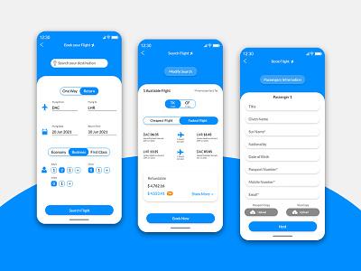 UI Design | Flight Booking App