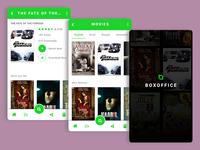 Freebie Mobile app UI