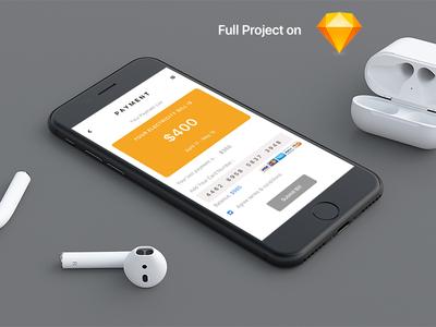 Payment App Screen