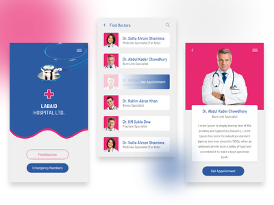 Medical App doctor health intercation interface medical app ux ui