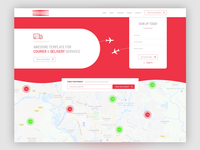 Courier & Delivery Service Page