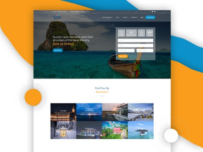 Travel UI Exploration! design. website interface interaction ux ui travel