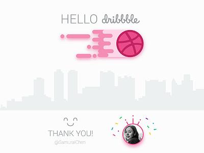 Hello Dribbble! dribbble invite. ux 1st shot first shot hello dribbble