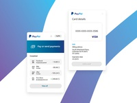 Paypal Mobile UI/UX Redesign Concept. Summary | Wallet