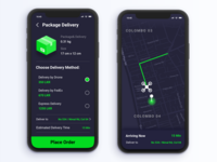 Drone Delivery App