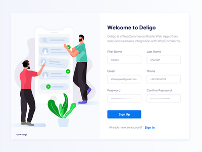 Sign Up - Daily UI (UIchallenge) #001 design uxdesign uipractice rending landing page 2019 signup sign up page sign up form sign up dailyui 001 uichallange ui ux