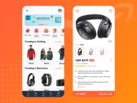 UI UX Design | Amazon Redesign Challenge in Sketch (2020) app design design 2020 uxdesign ux