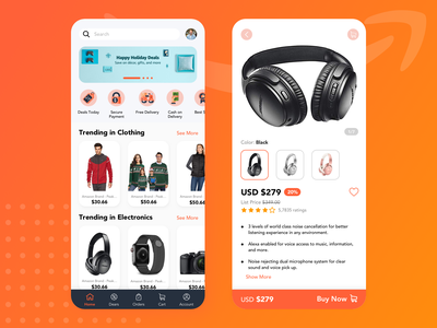 UI UX Design | Amazon Redesign Challenge in Sketch (2020) app design design 2020 uxdesign ux
