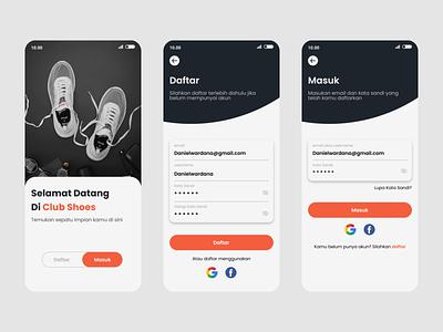 Login ux website mobile app design welcome screen signup signin login welcome application uiux app concept illustration app