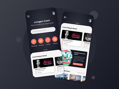 Ticket Sales App ux mobile app mobile interface ui logo illustration design apple app design app concept application app uiux