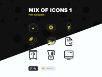 Free Icon Pack  1
