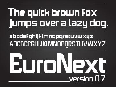 Euronext Type typography typedesign font
