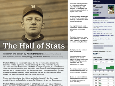 Hall of Stats Research Poster