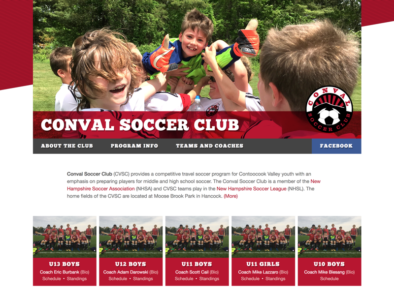 Building it out conval soccer club youth sports youth soccer soccer fußball football club