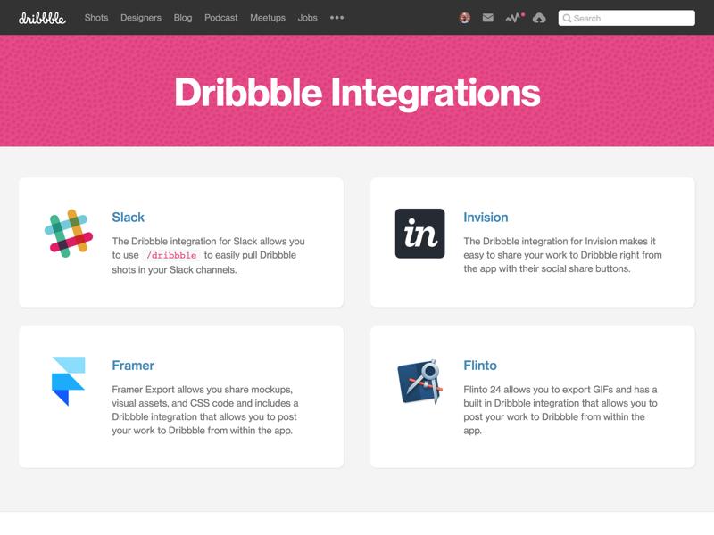 Integrations with Framer and Flinto integrations flinto framer
