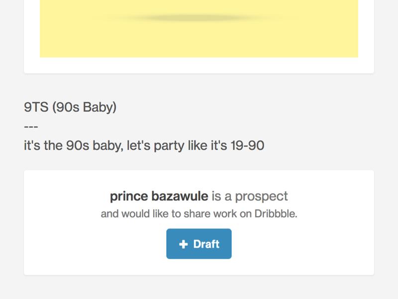 Better Prospecting 90s drafting prospects