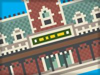 Train Station Pixels