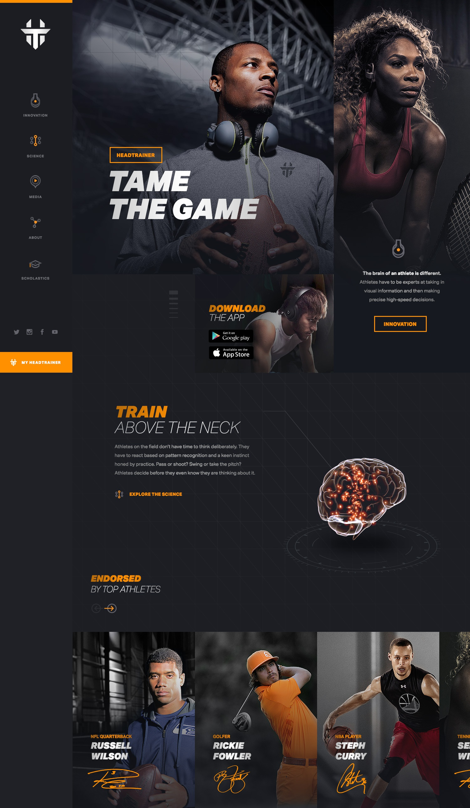 Newlogo headtrainer homepage