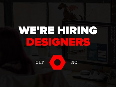 We're Hiring Designers mobile union ux ui web designer career job design