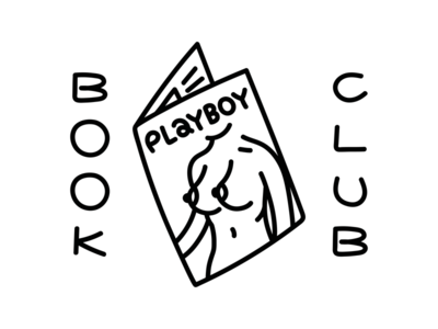 Book club t-shirt illustration
