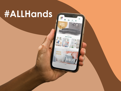 All Hands for all designers branding design