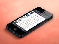 HTML5-Mobile UI Design