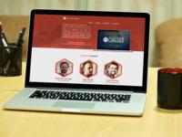 Hackathon Lovers Landing Page