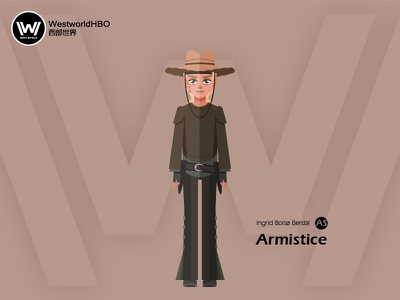 Westworld——Armistice illustration character