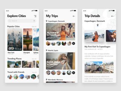 Travel App - Freebie