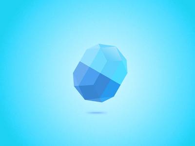 Diamond Blue crystal diamond blue