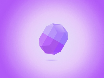 Diamond diamond crystal purple