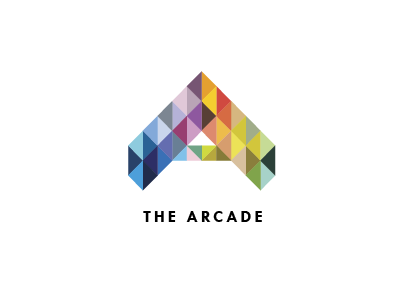 The Providence Arcade Logo a logo geometric