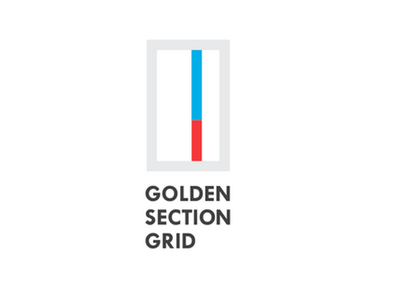 Golden Section Grid Logo grid golden section brand logo dynamic