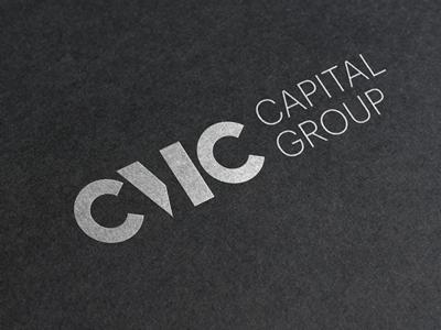 CMC Capital Group Logo design typography minimalism letterlogo c brand business logo capital cmc