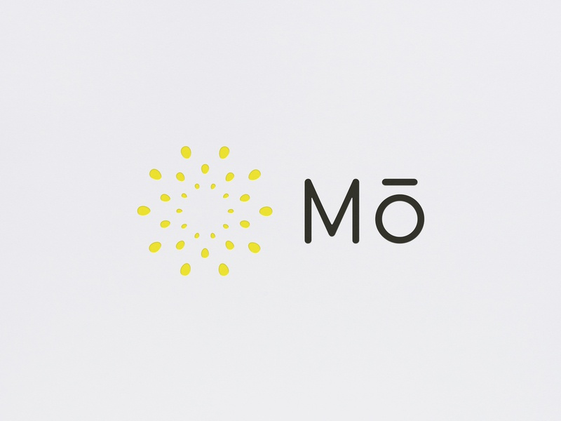 Mō Logo Design lifestyle cosmetics platform minimalism geometric design brand logo