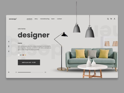 Sofa website furniture store furniture website furniture design furniture sofar fashion minimal web figma ux website ui design