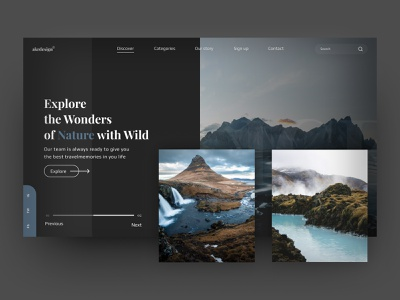 Landing Page: Travel Agency iceland dashboard design dashboard ui dashboad travelling travel agency travel branding figma website ux ui design