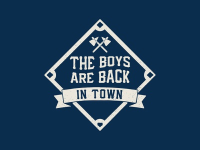 The Boys Are Back In Town atlanta thin lizzy braves baseball