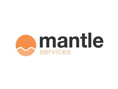 Logo for Mantle Services simple tcmi mantle logo design branding