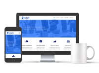 HatchTC Website web design responsive web design bootstrap