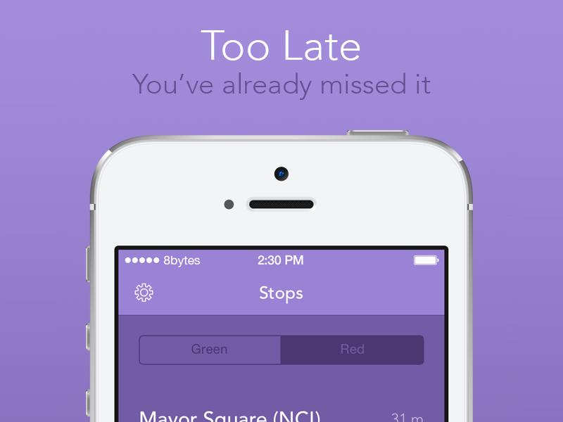 RealLUAS App Store Screenshot itunes screenshots screenshot iphone purple luas ireland ios