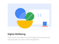 Google Digital Wellbeing sketch google android illustration design