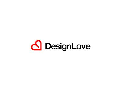 DesignLove - Logo Design Concept logo logo design minimal simple mark symbol icon love pen pencil heart