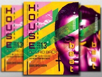 House Beat Flyer Template